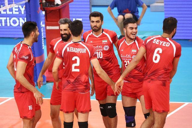 تیم ملی والیبال ایران - قطر ، عنابی پوشان چند ملیتی، دومین حریف بلند قامتان در تهران