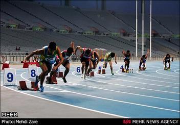 حسینی مدال نقره رقابت های دوی 200 متر را کسب کرد