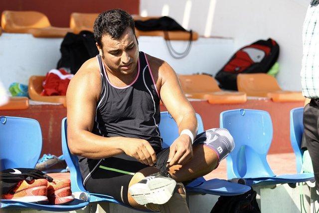احسان حدادی به مدال قهرمانی جهان نرسید و هفتم شد