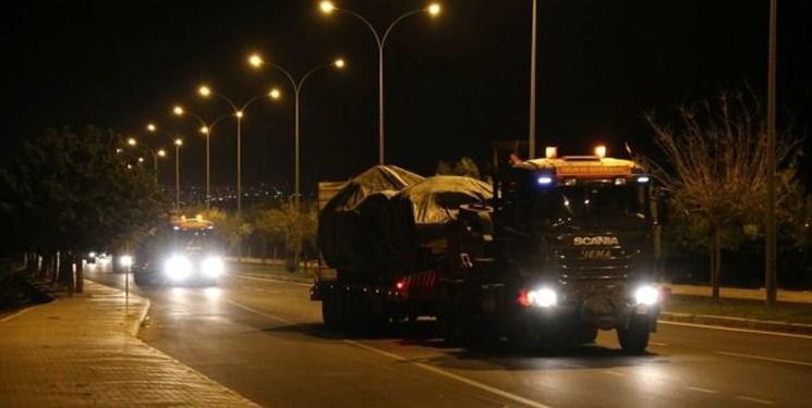 ورود یگان های زرهی ارتش ترکیه به خاک سوریه از گذرگاه مرزی کیلیس