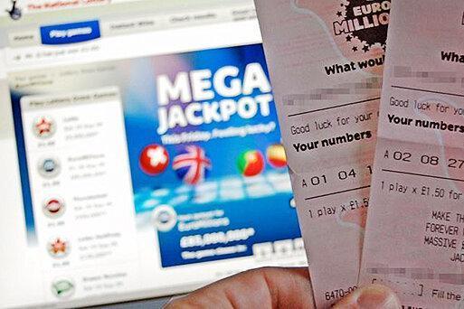 یک بلیط خرید 170 میلیون پوند برنده شد