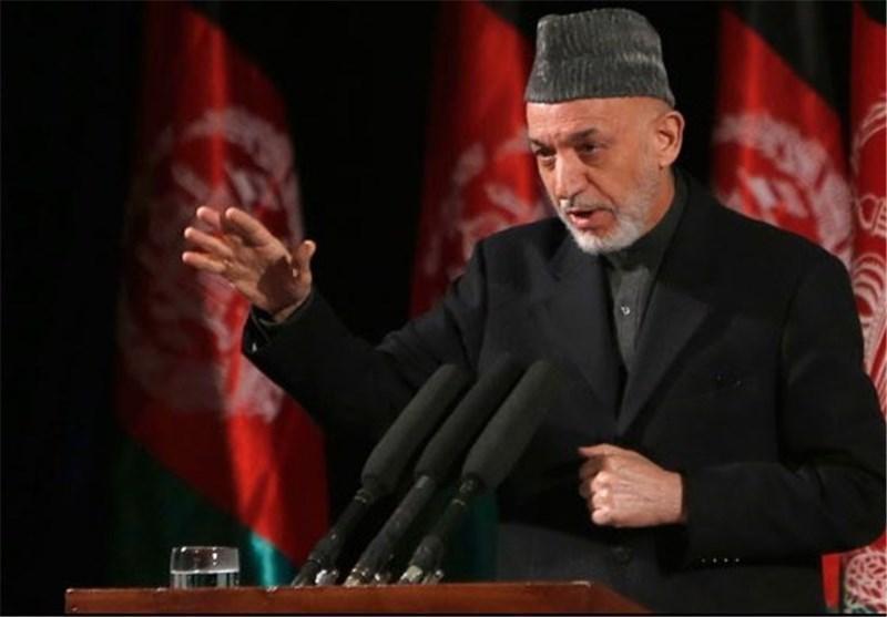 کرزی: کلید گمشده صلح در پاکستان است؛ طالبان نقشی ندارند
