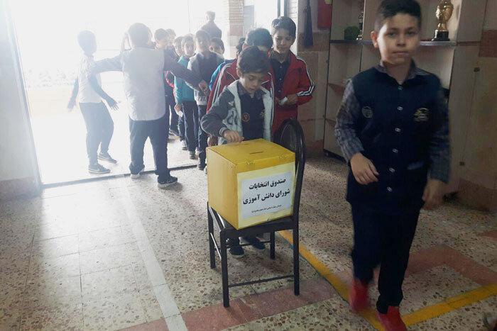 برگزاری انتخابات شورای دانش آموزی در منطقه18