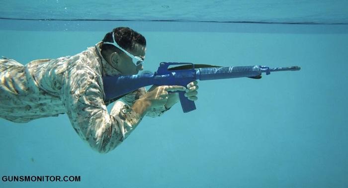 فناوری نظامی آمریکا برای شلیک دقیق در آب! (
