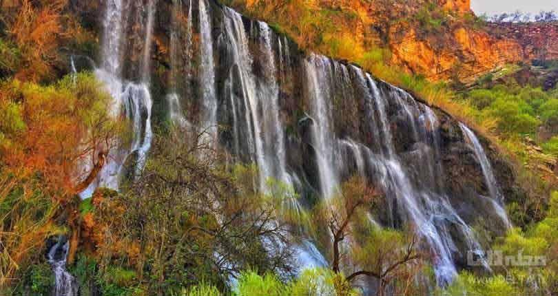 آبشار شوی ، نیاگارای خاورمیانه (ویدئو)