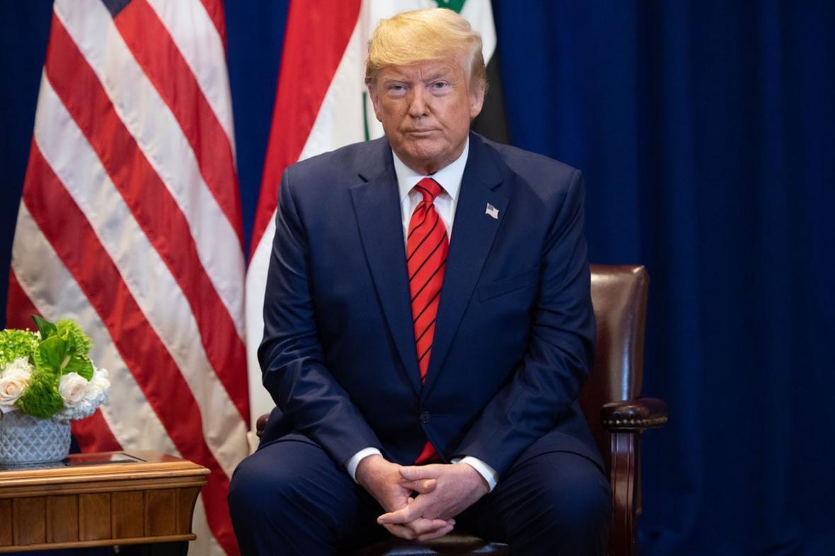 حمله دوباره ترامپ به دموکرات ها برای فرایند استیضاحش