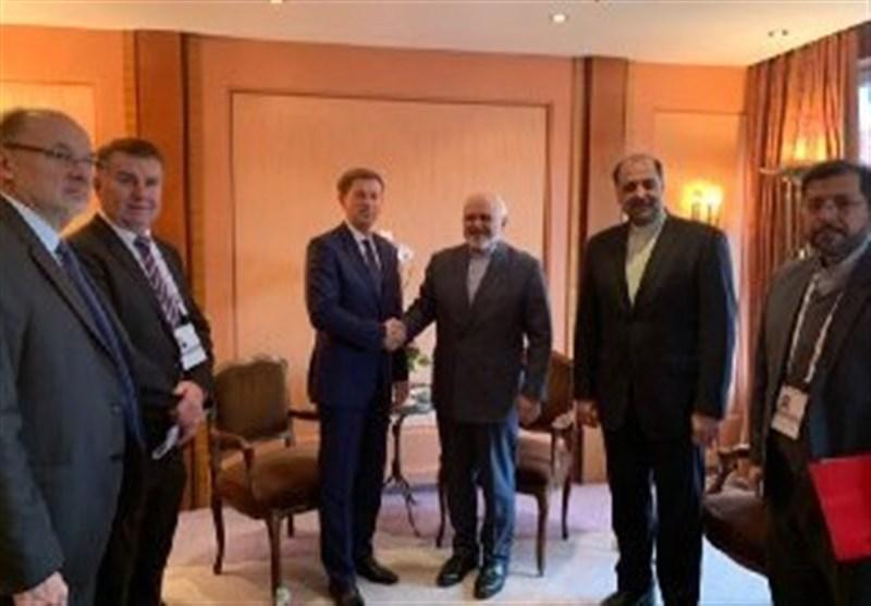 دیدارهای دیپلماتیک ظریف در سومین روز کنفرانس امنیتی مونیخ