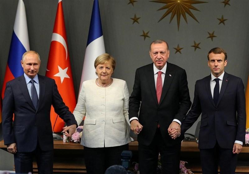 نشست سران ترکیه، روسیه، آلمان و فرانسه برای آنالیز اوضاع ادلب