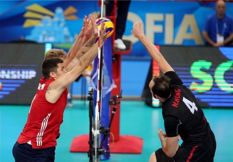والیبال قهرمانی جهان؛ آمریکا، کانادا را شکست داد