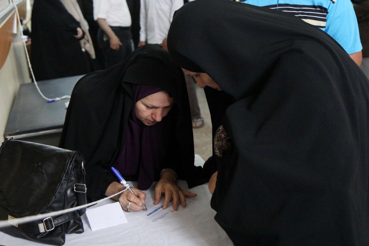 خبرنگاران شرایط برگزاری انتخابات در آستانه اشرفیه مطلوب است