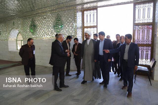 بازدید استاندار یزد از ستادهای انتخاباتی اشکذر و مهریز - 5