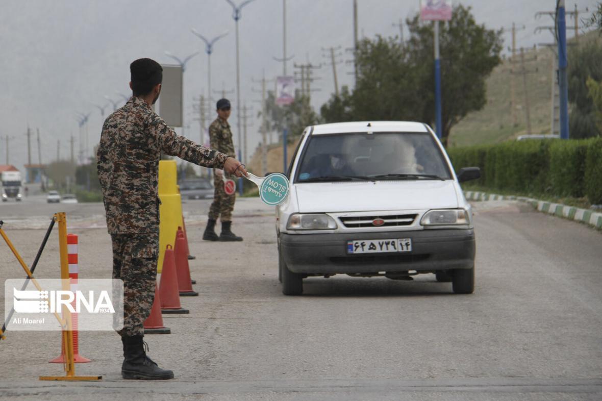 خبرنگاران ورود خودروها به خوزستان 71 درصد کاهش داشت
