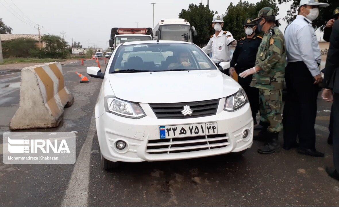 خبرنگاران راستا خروجی اهواز به سمت شهرستان باوی مسدود می شود