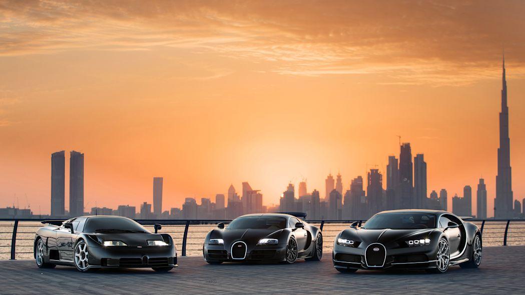 تصاویر جدید از برترین خودرو های بوگاتی