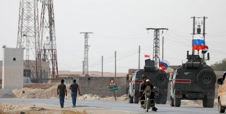 روسیه برای تقویت نیروهای سوریه تجهیزات نظامی به الرقه فرستاد