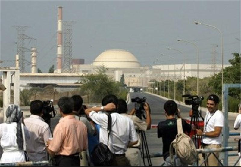 خبرنگاران وارد نیروگاه شدند، واگذاری نیروگاه بوشهر تا لحظاتی دیگر
