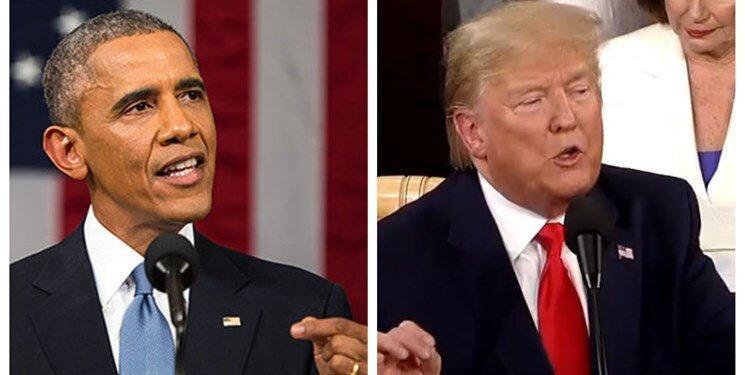 ترامپ خواستار شهادت اوباما در کنگره شد