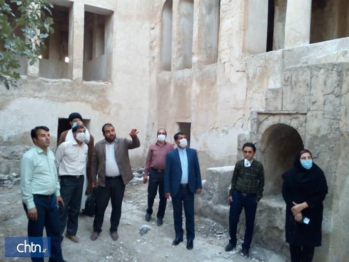 بازسازی اضطراری قلعه تاریخی چرام شروع شد