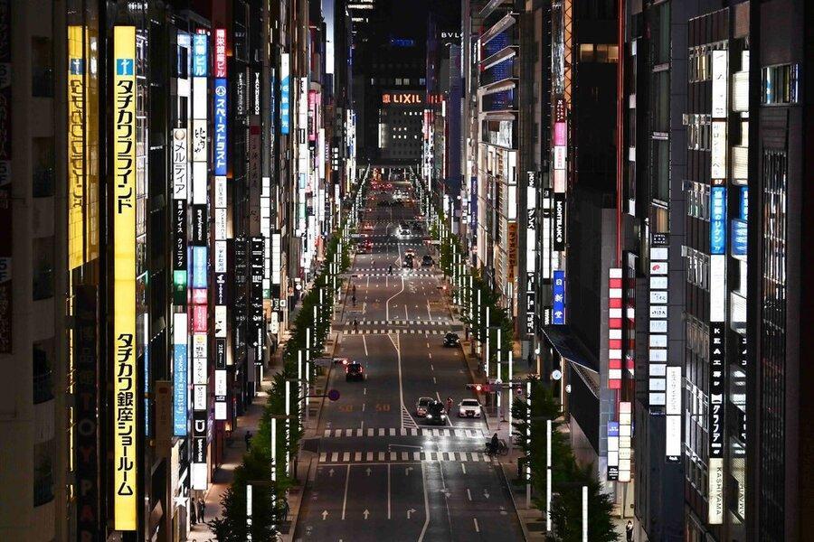 کرونا دامن اقتصاد ژاپن را گرفت ، ژاپن وارد رکود مالی شد