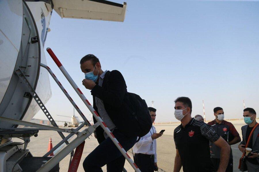 تصاویر ، کاروان پرسپولیس راهی قطر شد