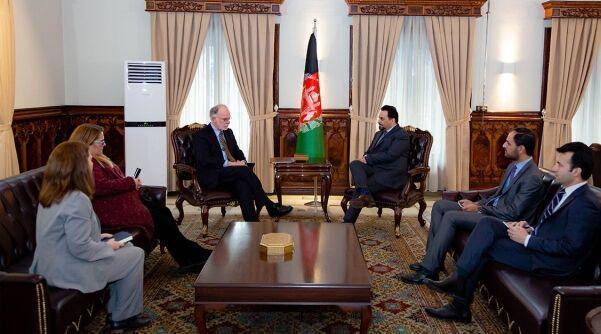خبرنگاران آمریکا خواهان انجام مذاکرات میان افغان ها شد