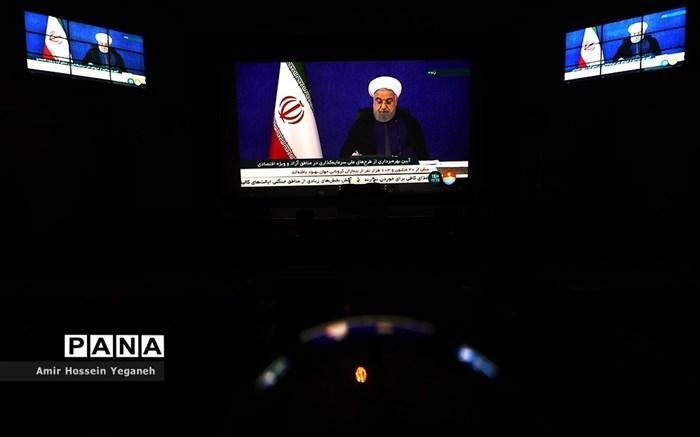 افتتاح 17 پروژه بازسازی و نوسازی مناطق سیل زده فروردین 98 توسط روحانی