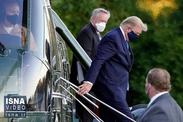 ترس از مرگ بر ترامپ غلبه کرد؟، سوال کرونایی جالب پرزیدنت