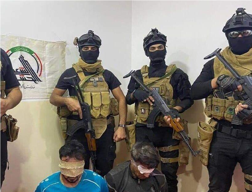 خبرنگاران انهدام 8 مقر داعش و دستگیری تروریستها در کرکوک و الانبار