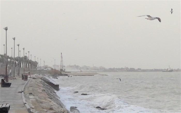 هشدار هواشناسی نسبت به افزایش موج در خلیج فارس