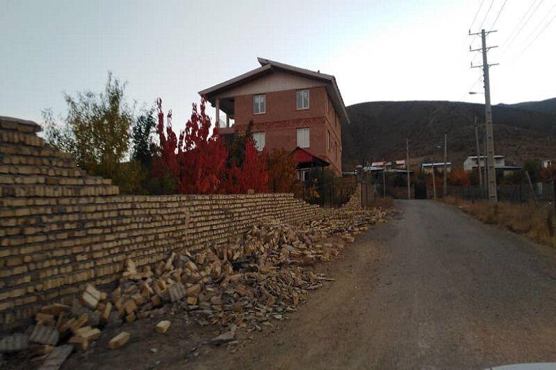 خبرنگاران زلزله به منازل روستایی آوج خسارت سنگین وارد نکرد