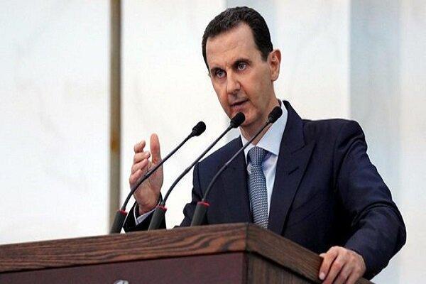 بشار اسد: حامیان تروریسم مانع بازگشت پناهجویان سوری می شوند