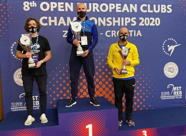 سومی شاگردان یوسف کرمی در تکواندوی جام باشگاه های اروپا