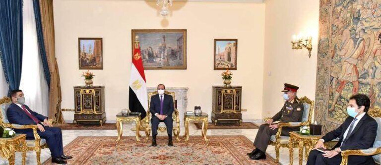 خبرنگاران عبدالفتاح السیسی: آماده همکاری نظامی با عراق هستیم