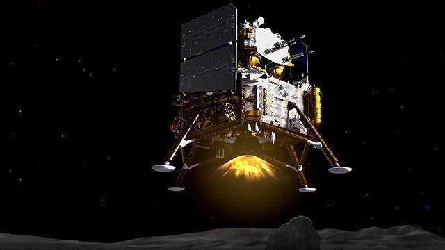فرود چانگ ای-5 چین بر سطح ماه