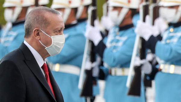 اردوغان عزادار شد