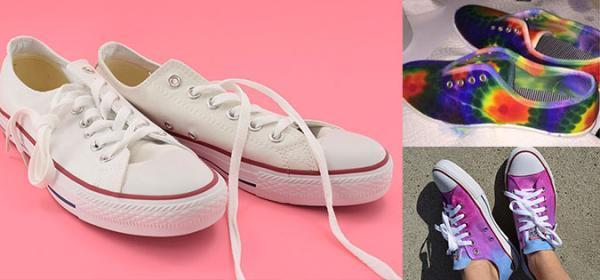 3 ایده باحال و خاص برای رنگ آمیزی کفش