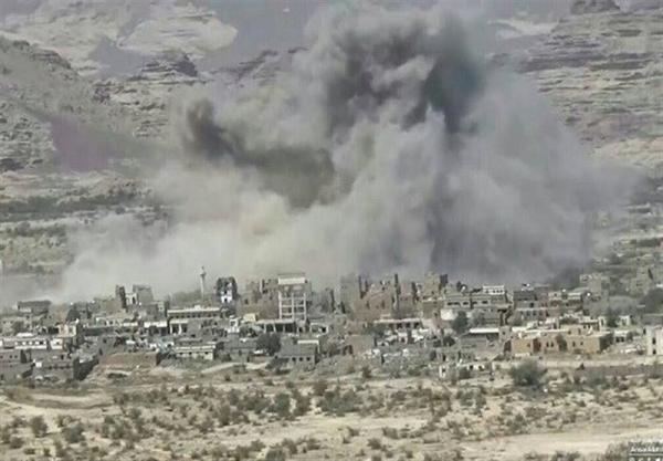 یمن، حملات متجاوزان سعودی به روستاها؛ یک شهروند یمنی به شهادت رسید