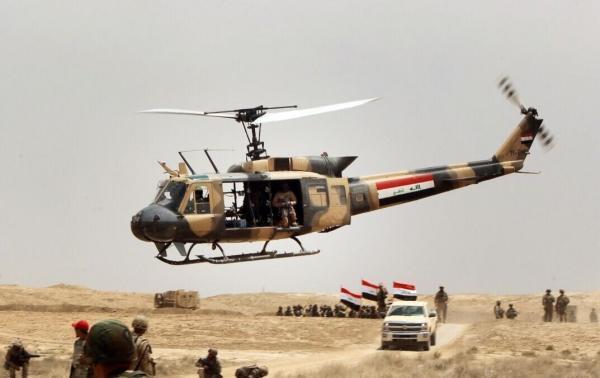 خبرنگاران شروع عملیات الحشد الشعبی و ارتش عراق در دیاله