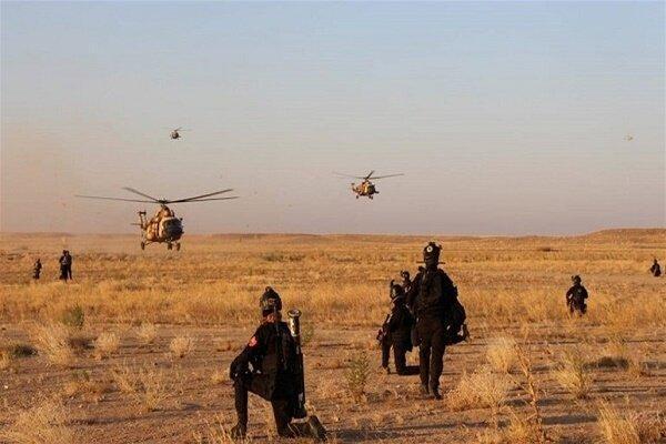 ارتش عراق تسلیحات و تجهیزات نظامی تکفیری ها را کشف و ضبط کرد