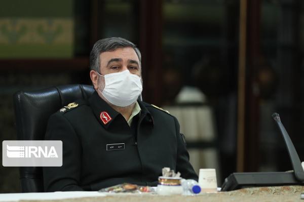 خبرنگاران فرمانده ناجا از کارکنان پاسگاه های کورین، قلعه بید و شورو قدردانی کرد