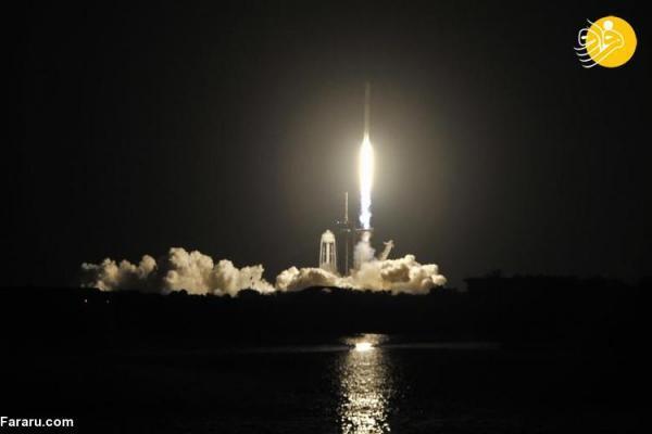 (تصاویر) اعزام 4 فضانورد به ایستگاه فضایی