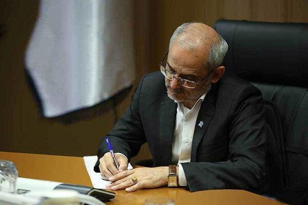پیغام تسلیت وزیر آموزش و پرورش به مناسبت درگذشت مشاور عالی رئیس جمهور