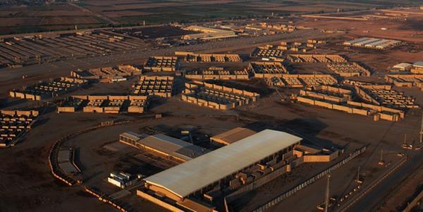 حمله راکتی به محل استقرار نیروهای آمریکایی در پایگاه بلد عراق