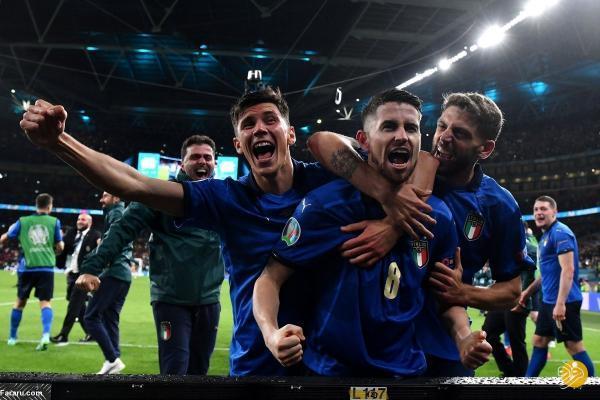 ایتالیا با شکست اسپانیا فینالیست یورو 2020 شد