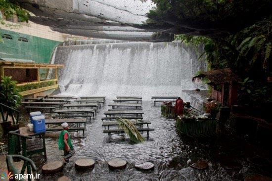 رستورانی رویایی در فیلیپین