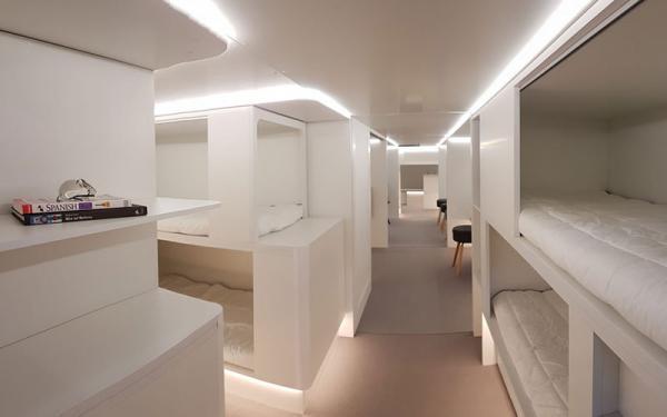 فضای داخلی لوکس ایرباس نو شبیه به کشتی تفریحی