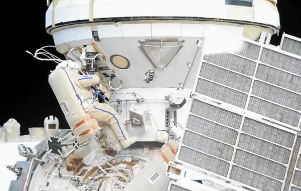 ماژول تازه ایستگاه فضایی بین المللی با راهپیمایی فضانوردان جان گرفت