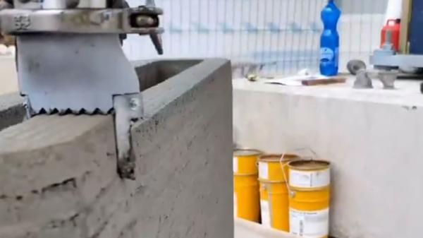 چاپ خانه با چاپگر بتنی سه بعدی
