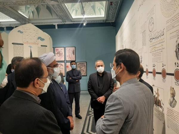 بازدید معاون رییس جمهور و تولیت آستان قدس رضوی از موزه ملک