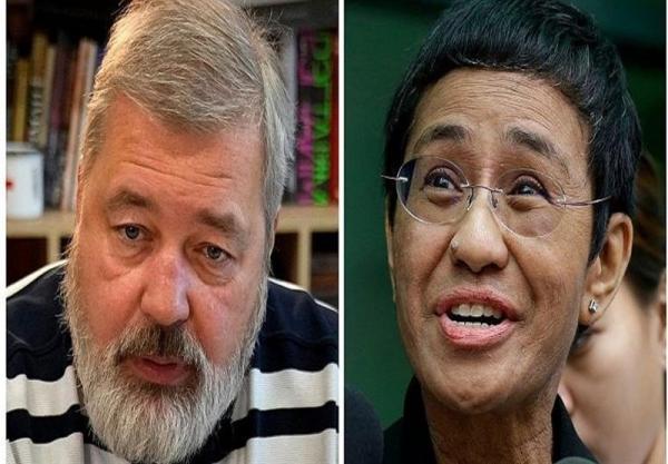 تور ارزان فیلیپین: جایزه صلح نوبل به روزنامه نگاران فیلیپینی و روسی رسید